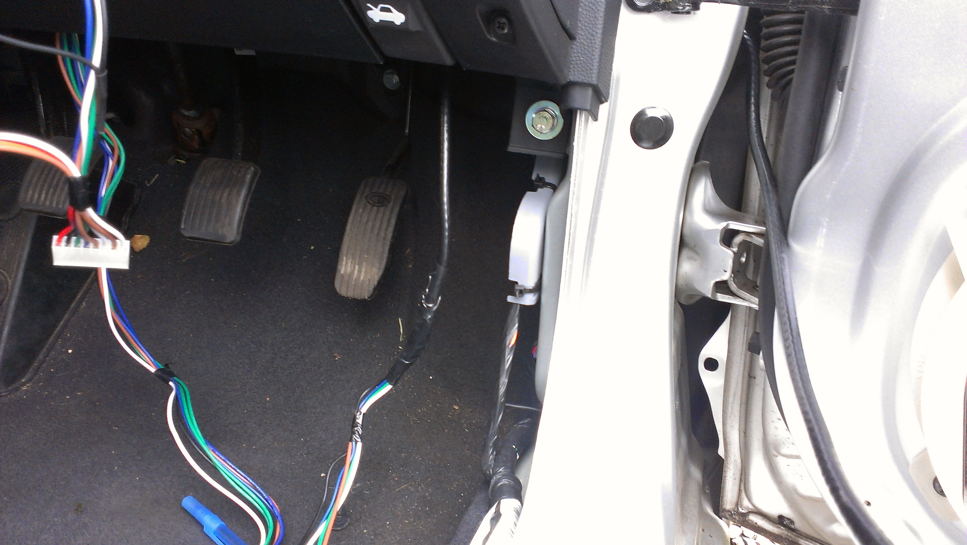 Quick Guide On Fitting Central Locking Kia Owners Club Forums Picanto 2005 Fuse Box Diagram Report This Image