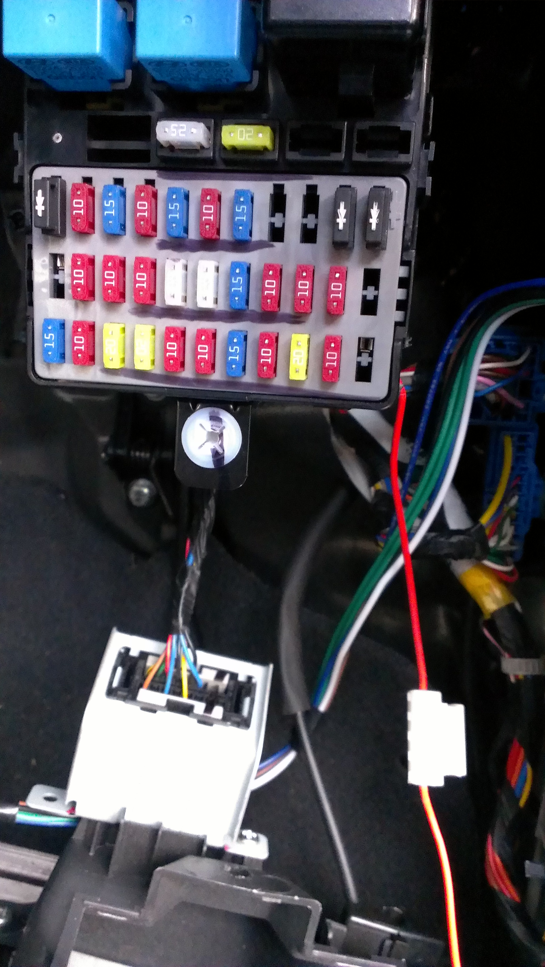 Quick Guide On Fitting Central Locking Kia Owners Club Forums Shuma Fuse Box Report This Image